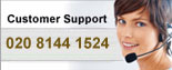 Customer Support: 020 8144 1524